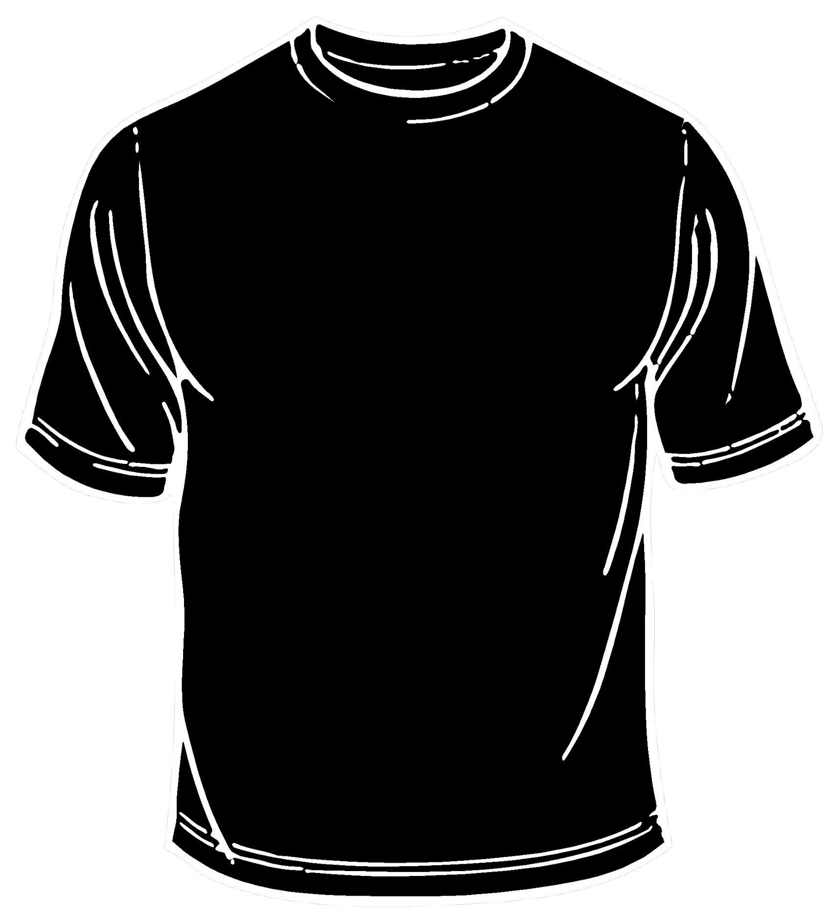 ladies black t shirt template - photo #22