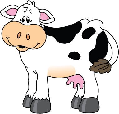 Clip Art Cow - ClipArt Best