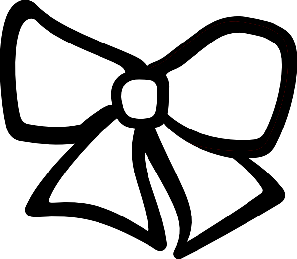 Cheer bow template
