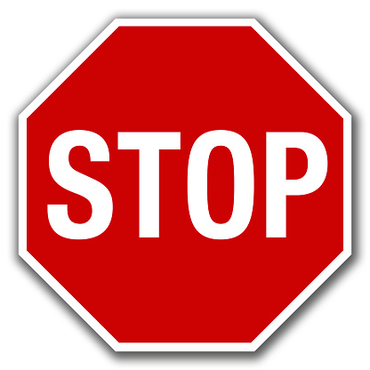 Stop Sign Clip Art, Vector Images & Illustrations
