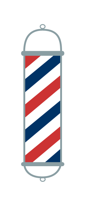 Barbershop Pole Vector - ClipArt Best
