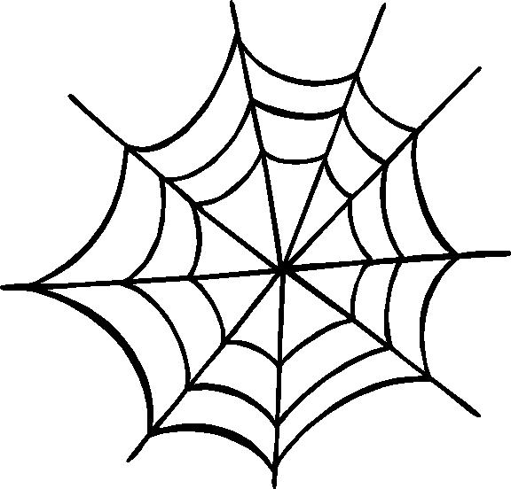 Spider Web Outline - ClipArt Best