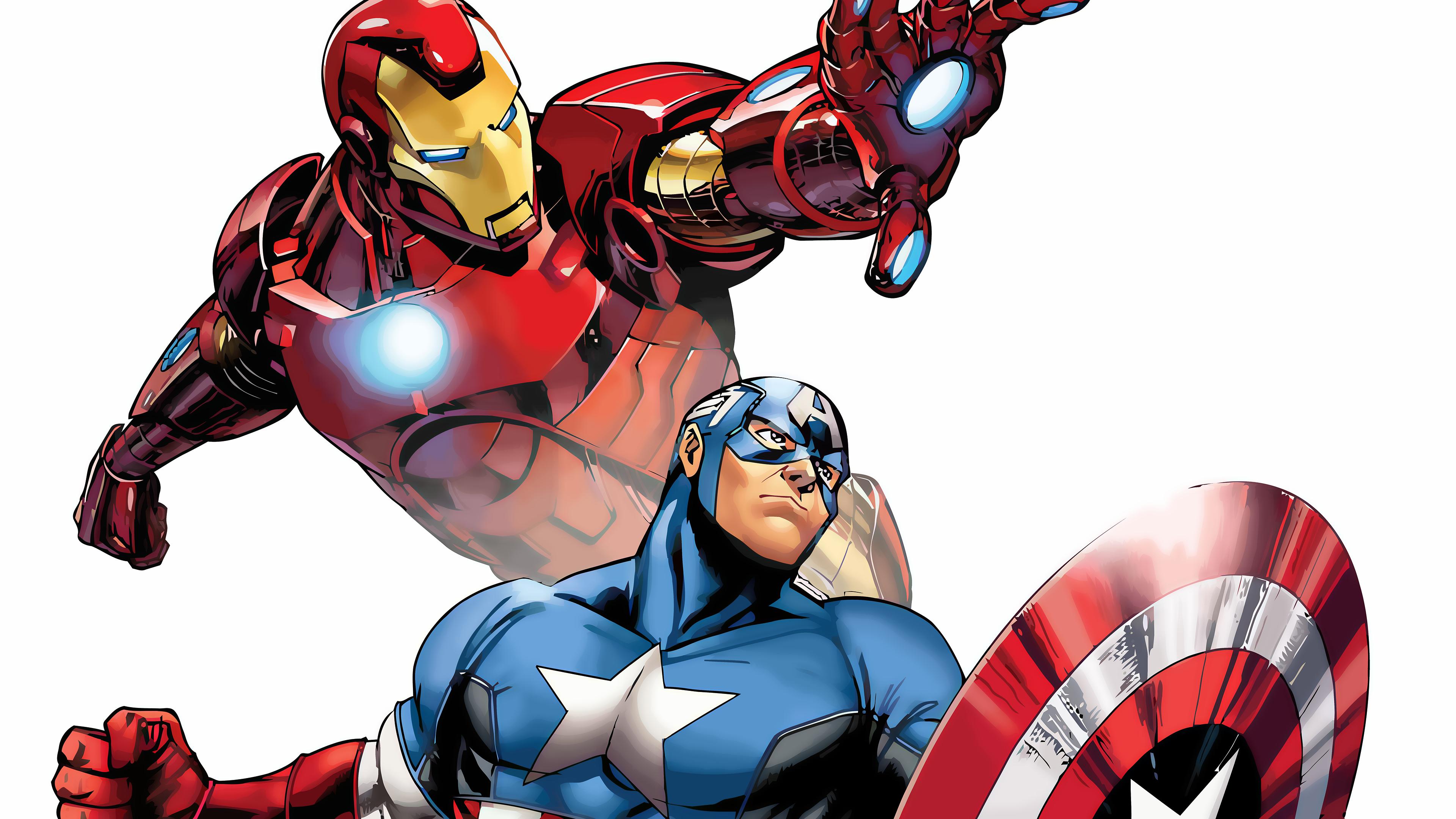 Captain america comics clipart best - Iron man cartoon download ...