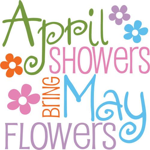 free clipart  april flowers clipart best april showers clip art vintage april showers clip art images free