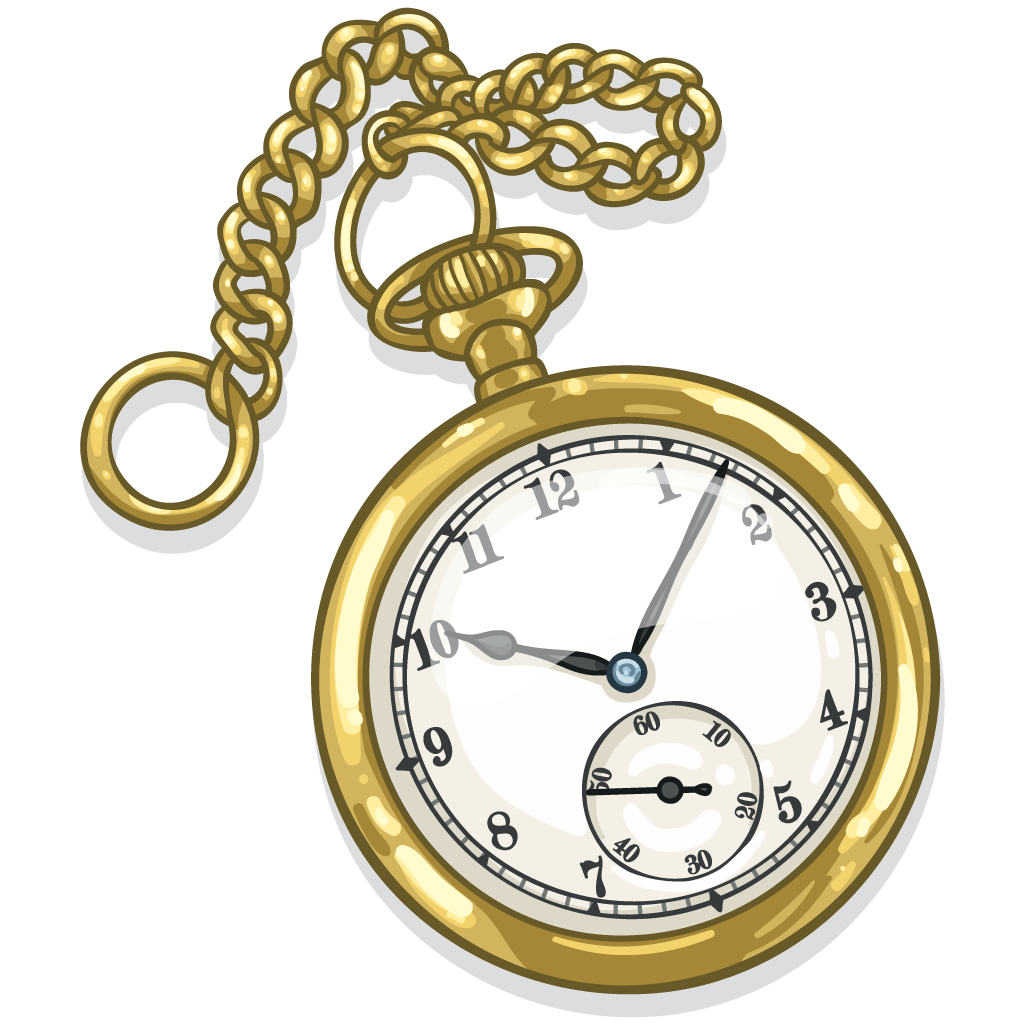 pocket watch clipart - photo #11