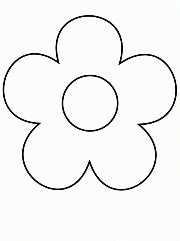 Easy flower drawing in pencil clipart best for How to draw a basic flower