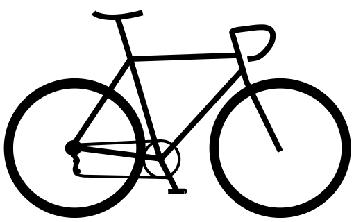 Line Drawing Bicycle : Simple bicycle drawing imgkid the image kid