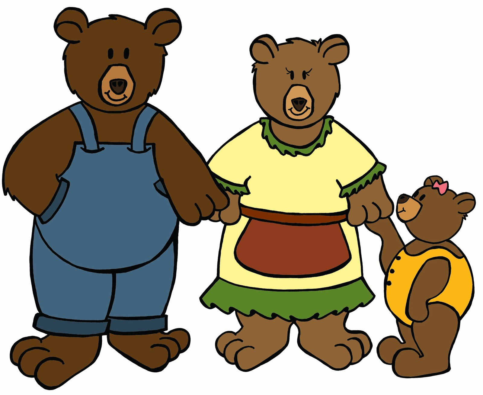 goldilocks clipart best goldilocks and the three bears clipart black and white Goldilocks and the Three Bears Activities