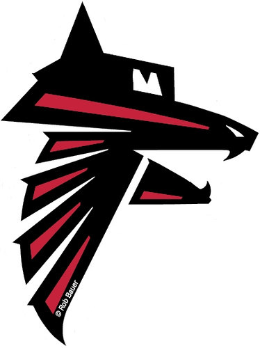 Atlanta Fighting Dawgz Logo | In honor of the Atlanta Falcon… | Flickr
