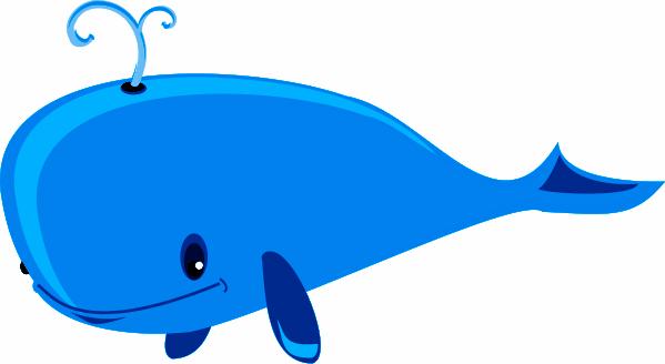 Blue Whale Cartoon - ClipArt Best