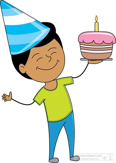 Boy Birthday Hat Clip Art - ClipArt Best