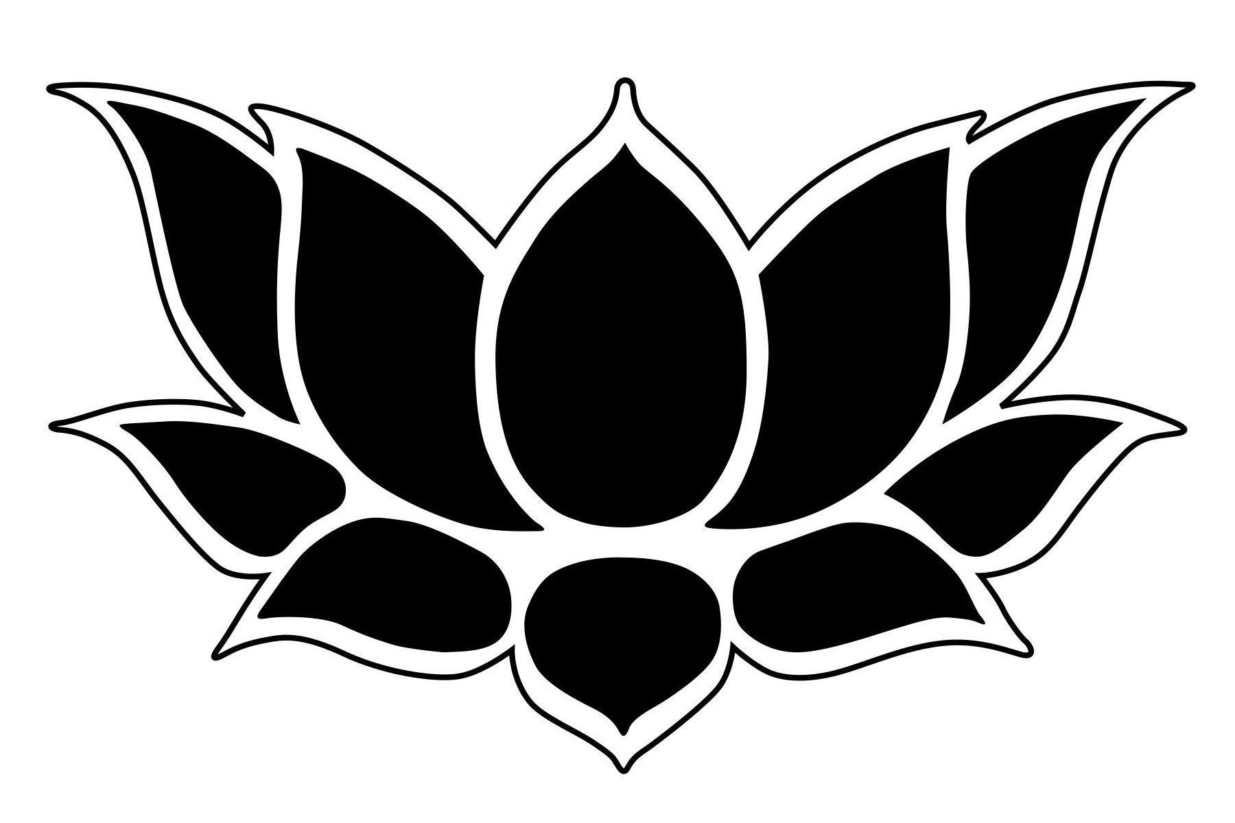 lotus flower stencil related keywords suggestions lotus flower