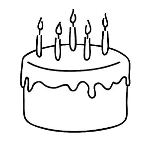 Birthday Hat Black And White - ClipArt Best