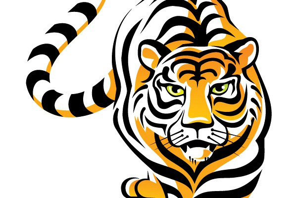 Free Vector Tiger Art - ClipArt Best