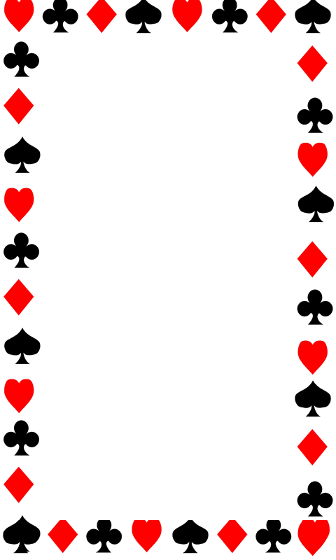 cards border  clipart best
