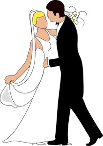 Wedding Clipart Bride And Groom - ClipArt Best