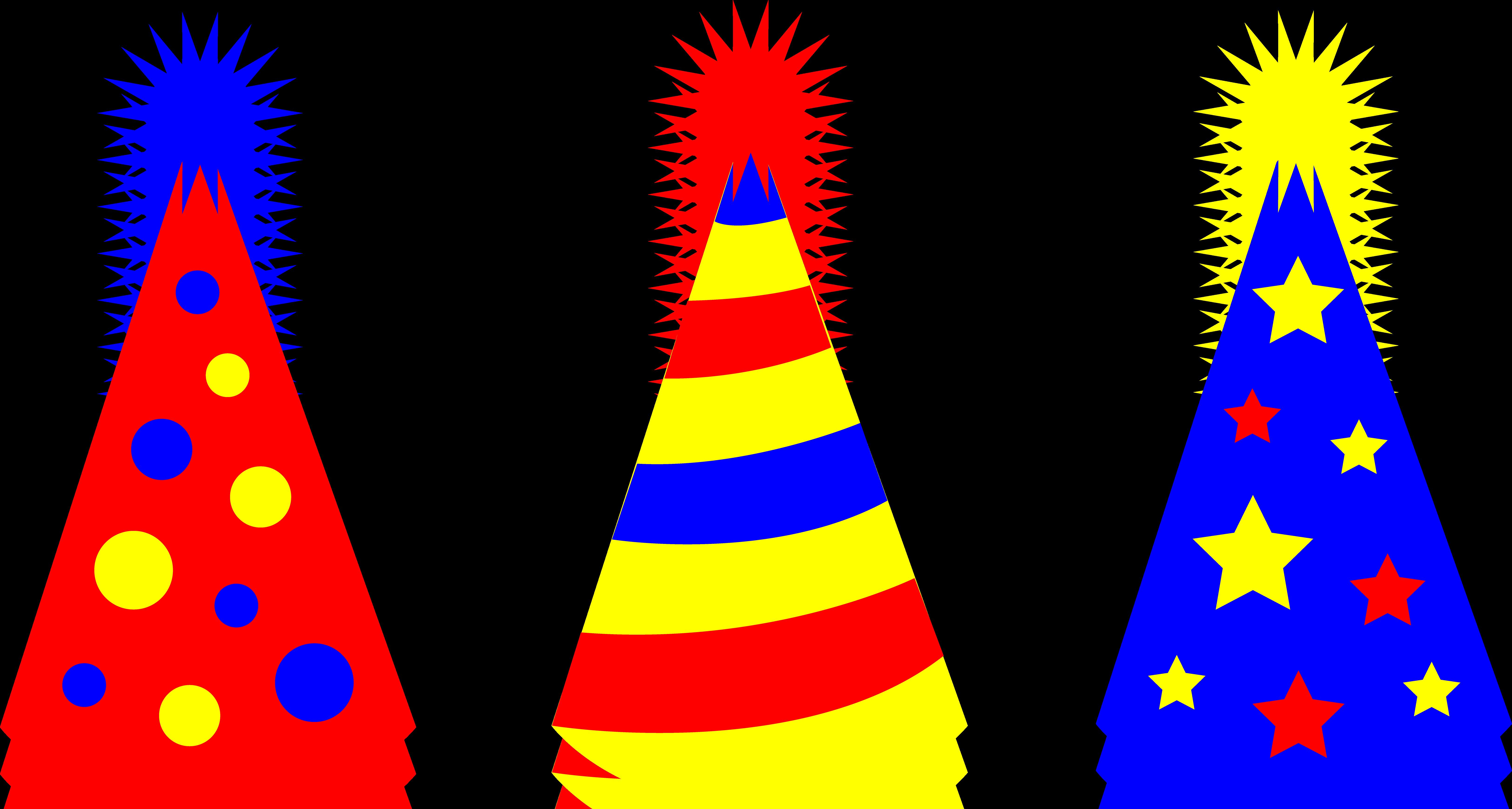 Party Hat Clipart Transparent Background