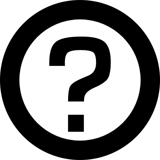 Question mark circle interface faq symbol - Free signs icons
