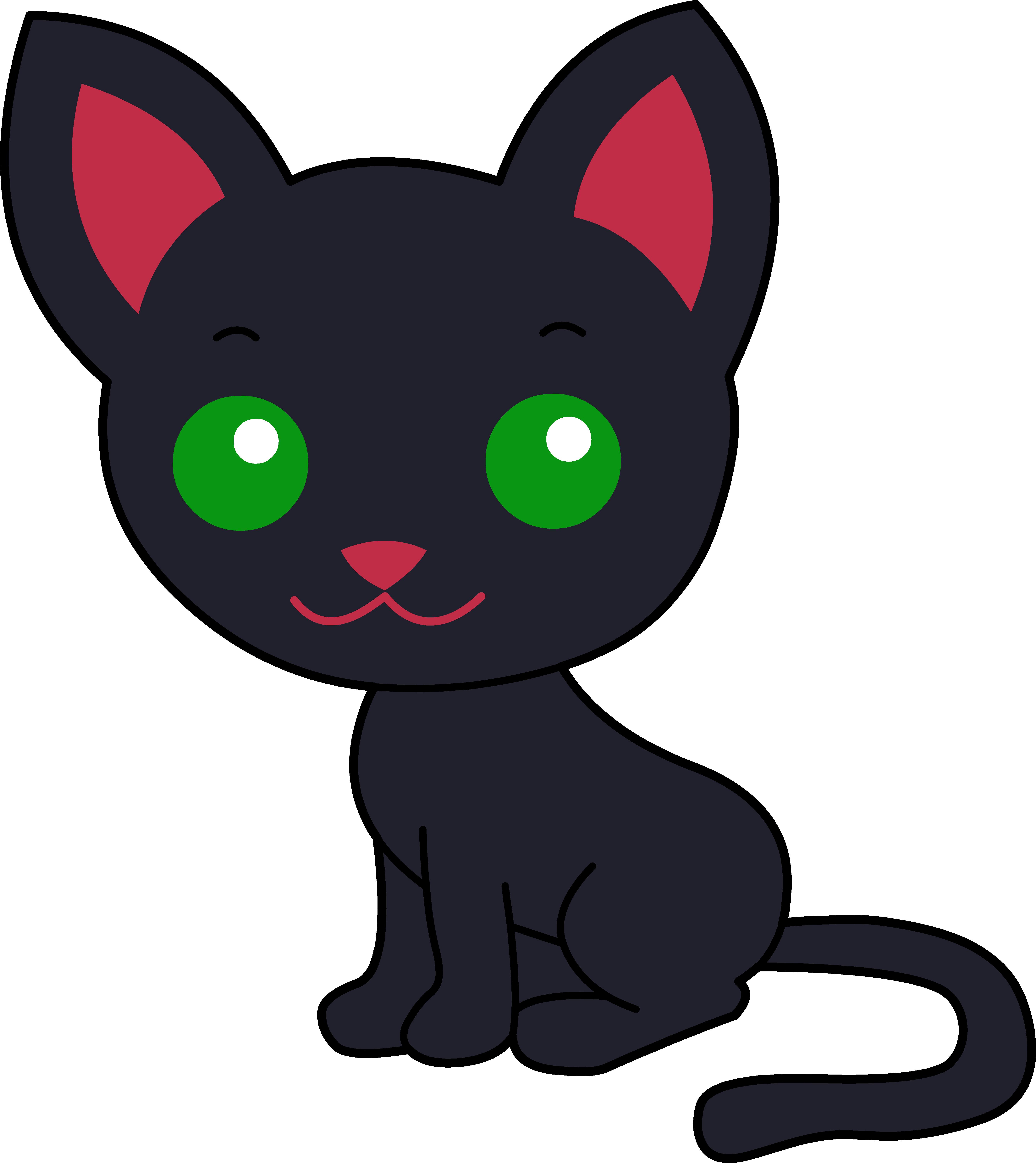 Cute Cat Clipart - ClipArt Best