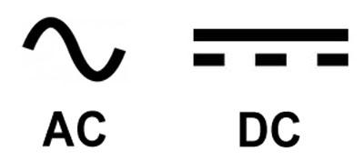 Ac Dc Electrical Symbols - Nilza.net