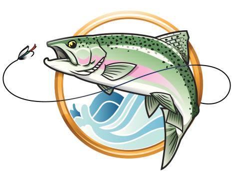 Rainbow Trout Clip Art - ClipArt Best