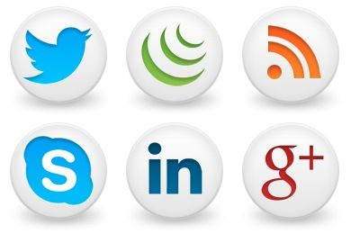 Icons, Social media and Desktop icons