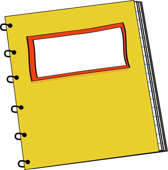 Notebook Paper Clipart Free - ClipArt Best