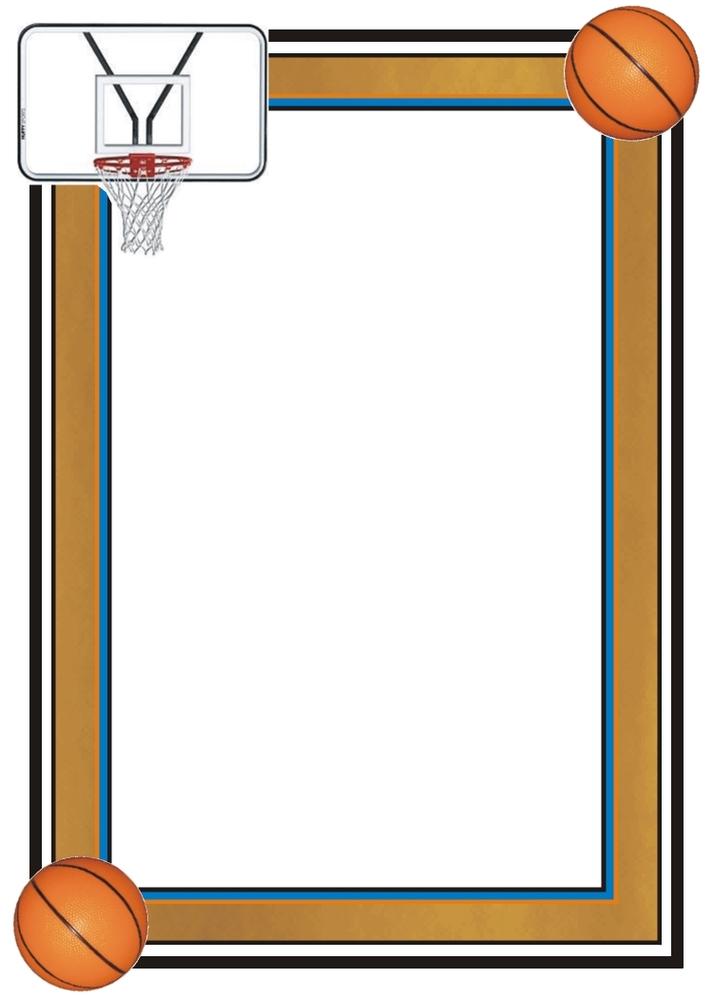 Basketball Borders - ClipArt Best