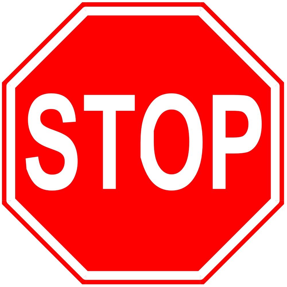 stop sign color in   clipart best