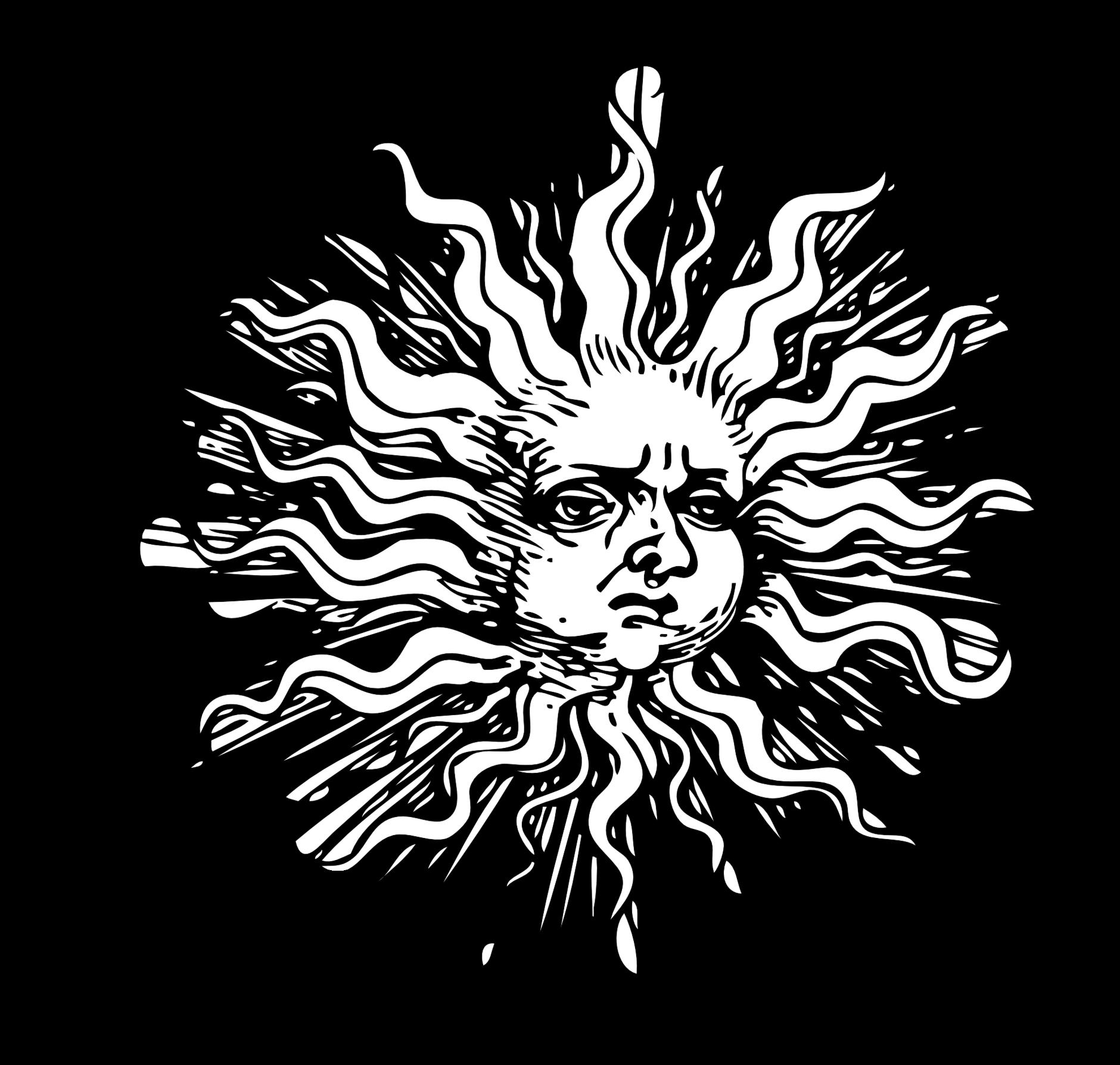 Line Art Sun : Sun line art clipart best