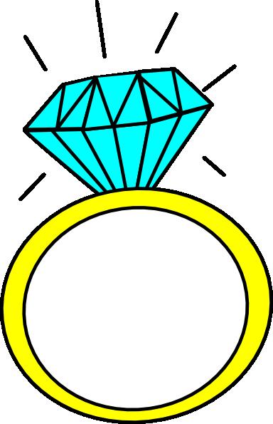 Diamond Ring clip art - vector clip art online, royalty free ...