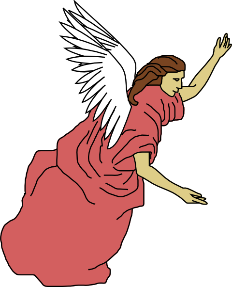 angel clipart clip flying christmas angels guardian cliparts vector transparent wings royalty graphics svg clker domain cliparting clipartbest troll clipartix