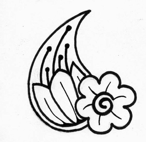 Free flower tattoos designs clipart best for Printable tattoo paper