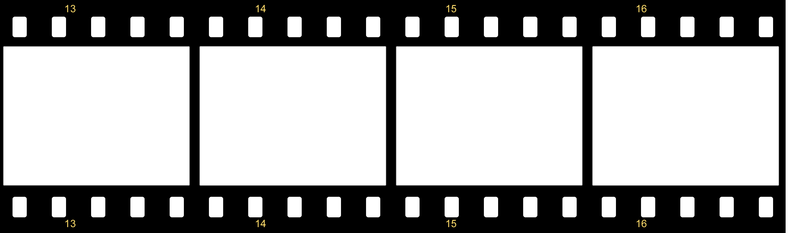 Blank film strip template clipart best for Printable film strip template