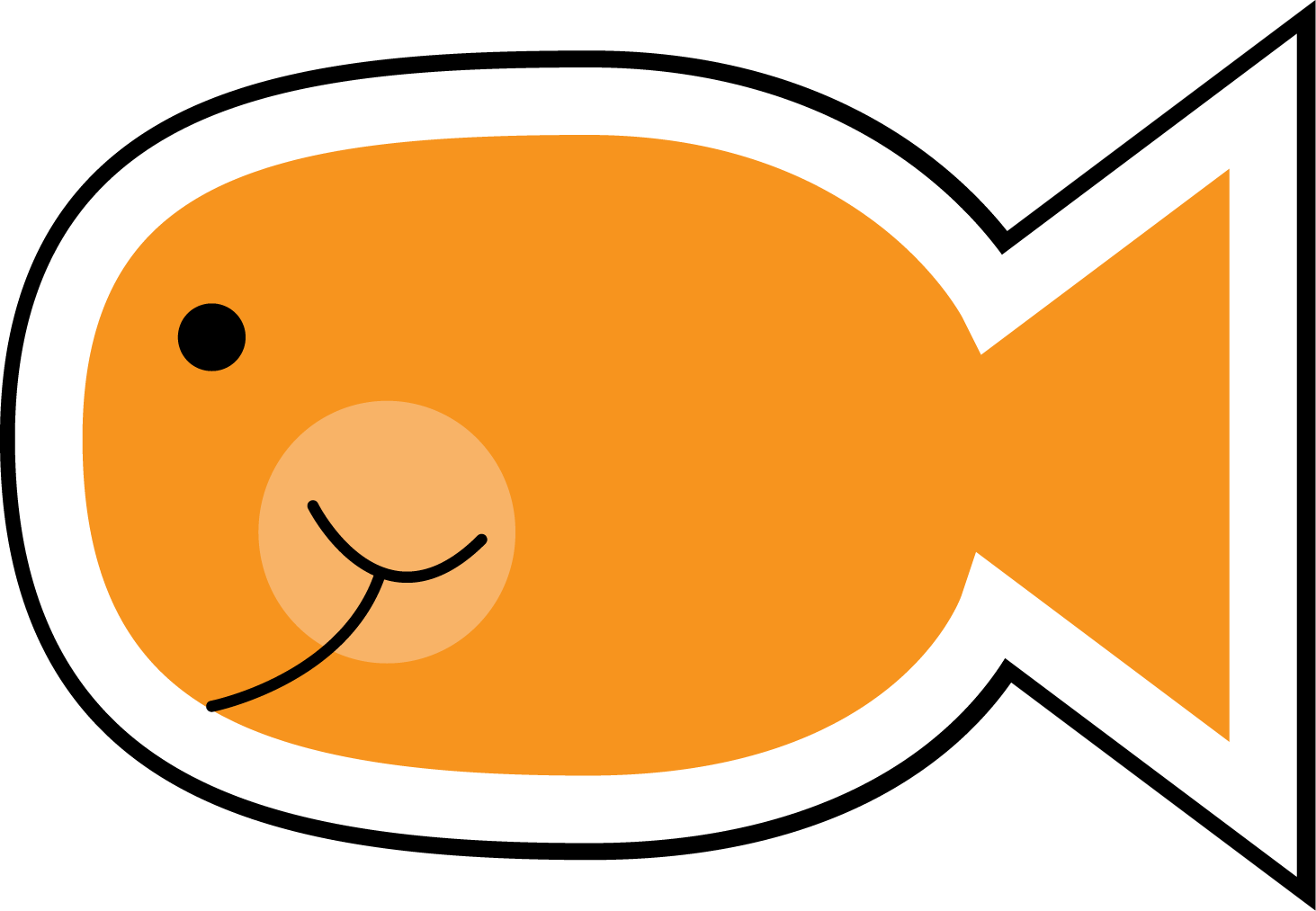 fish clipart drawing - photo #21