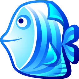 Free fish icon :: free blue fish icon :: available in png, ico ...
