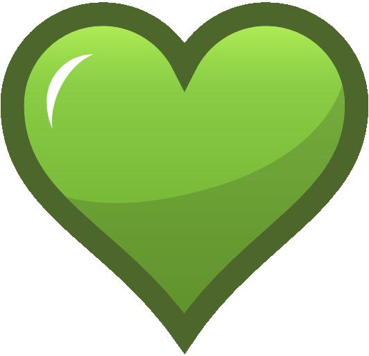 Heart Vector Art Png Clip art green heart