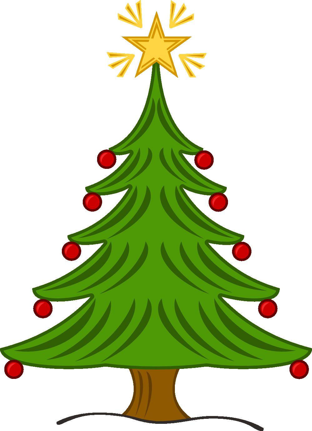 Xmas Christmas Tree 14 Flower Flora xochi.info Art Christmas Clip ...