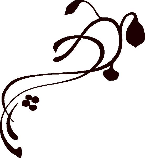 Brown Swirl clip art - vector clip art online, royalty free ...