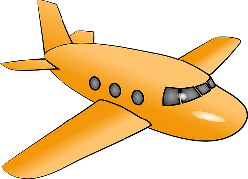 clipart picture of an airplane - photo #40