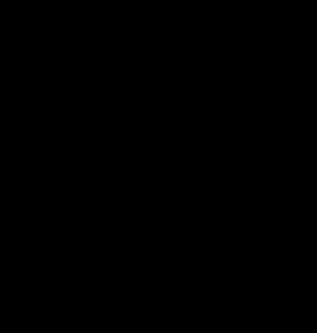 Biohazard Symbol Stencil
