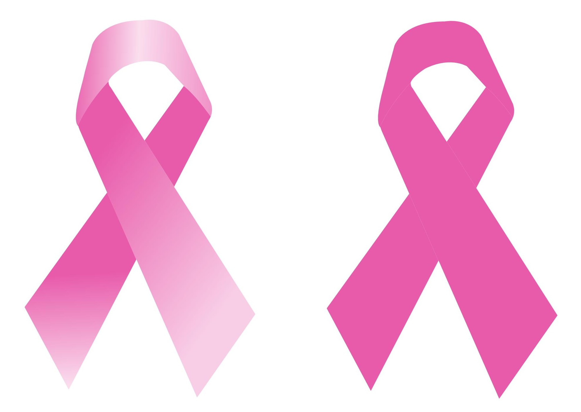 Breast cancer awareness icons