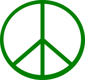 Peace >> Green Peace Sign clip art - vector clip art online, royalty free ... - ClipArt Best - ClipArt Best