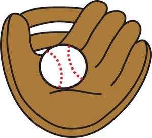 Baseball glove cartoon