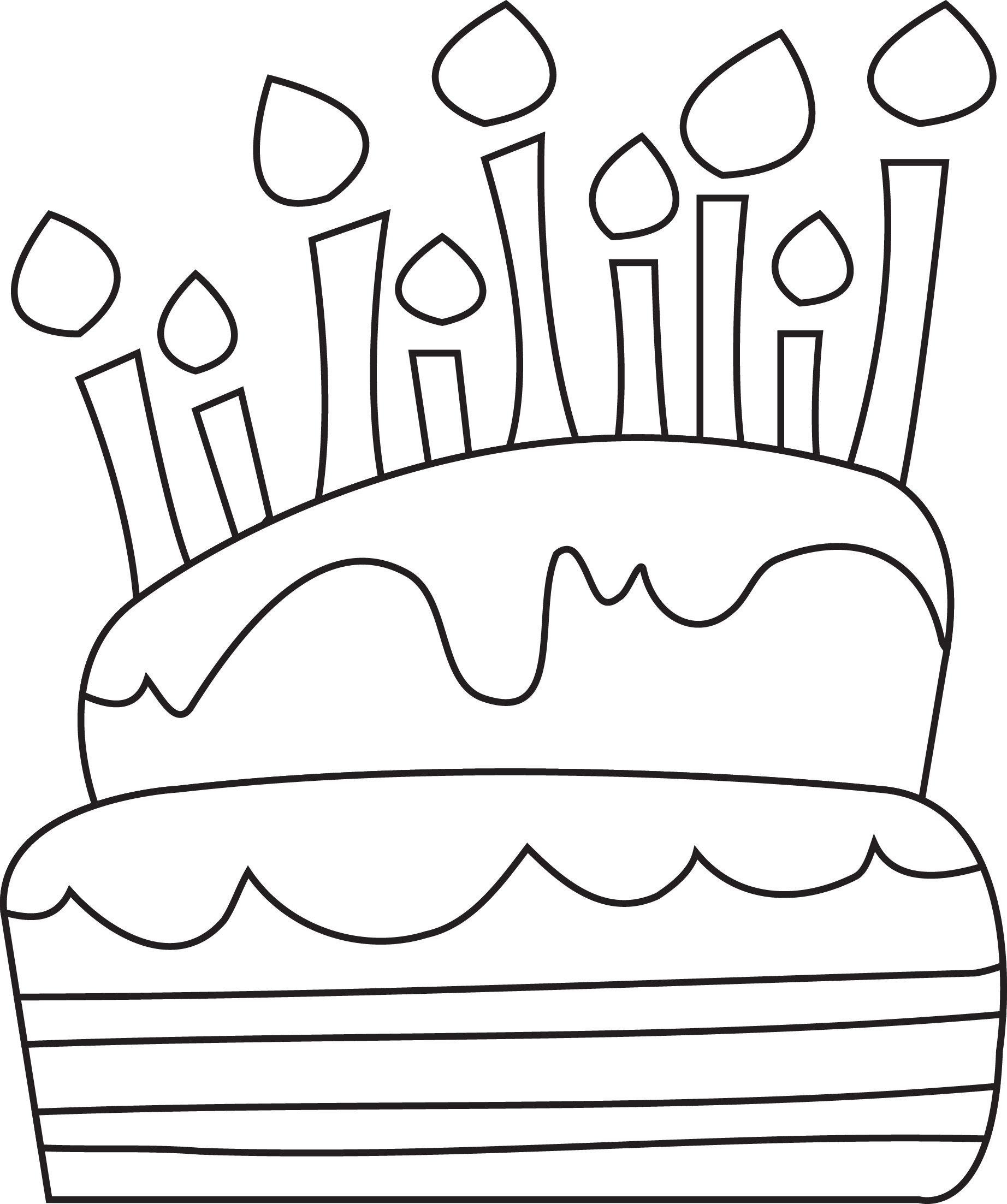 Birthday wishes besides Clipart Bday Cake 5 Candles Black And White 1 likewise Happy Birthday Coloring Pages as well Outline also Person Pg2. on computer cake with birthday candles