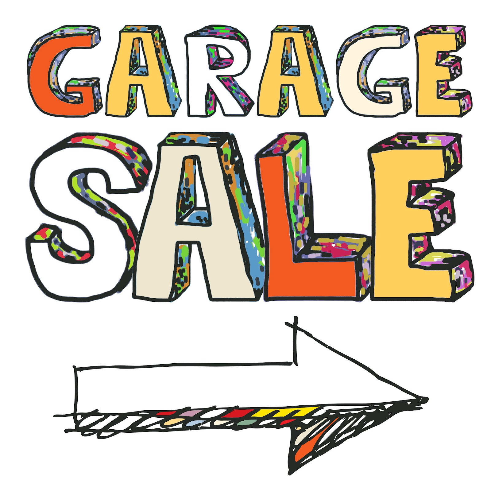 Yard Sale Sign Clip Art Rei garage sale
