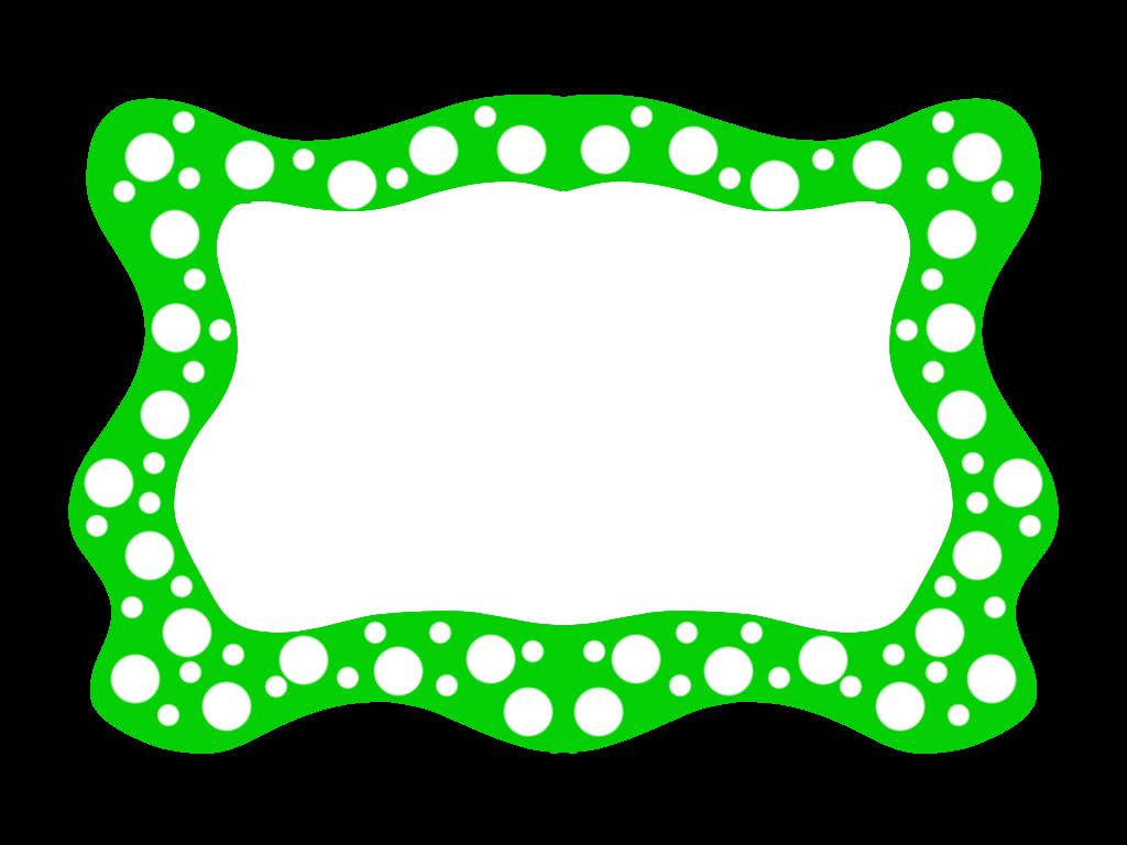 Educasong Free Green Clip Art Frames Clipart Best