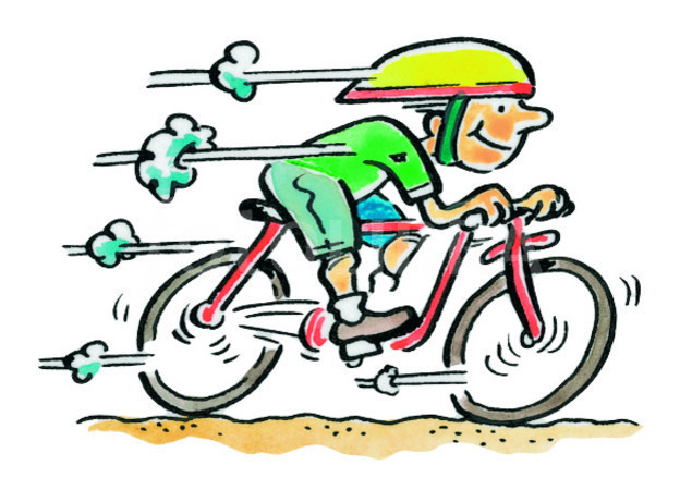 free clip art bike rider - photo #24