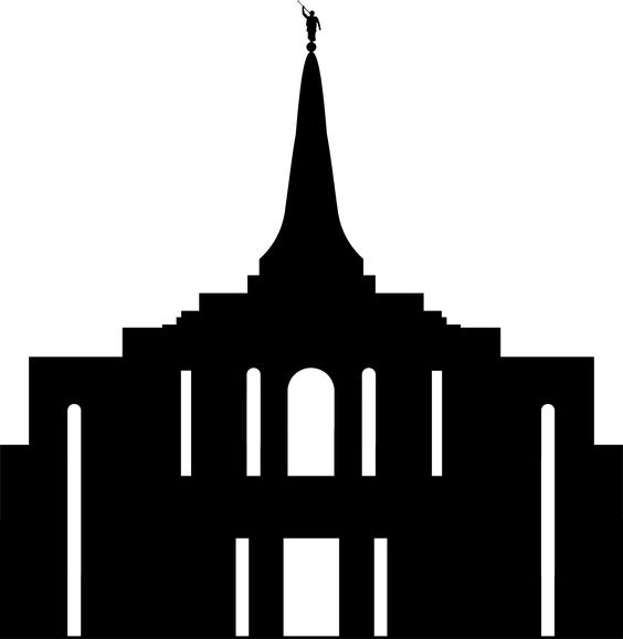 lds temple silhouette clipart best lds temple clipart black and white lds temple clipart black and white