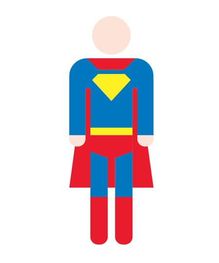How To Make A Jpeg Book Cover : Superhero cape outline clipart best